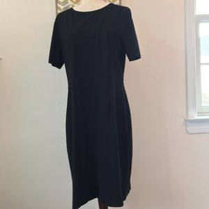 J Crew fitted cotton knit dress size 14